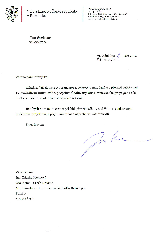 velvyslanec ČR v Rakousku