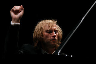 Ivo Kahánek performing music by Janáček at the MITO Festival