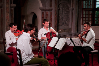 Epoque Quartet in Serbia