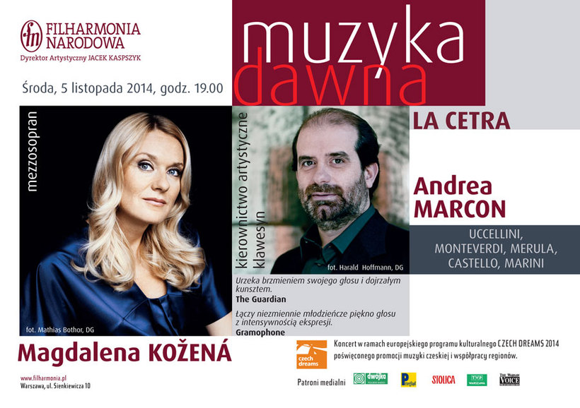 Patron of the Czech Dreams will sing in Poland